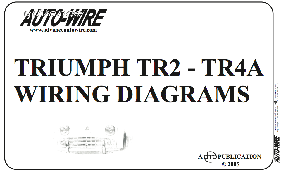 Triumph Tr4 Wiring Diagram - DIY Wiring Diagrams •