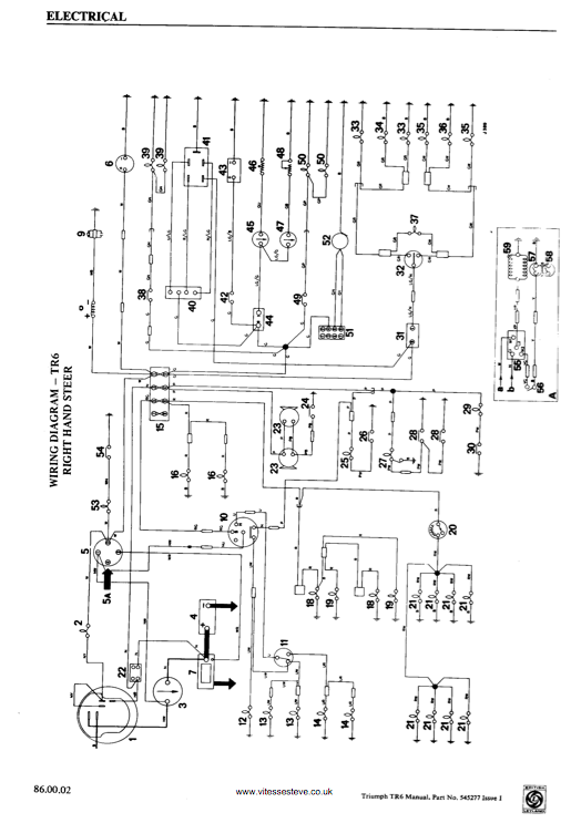 triumph tr3a wiring diagram wiring diagrams schematics rh alexanderblack co free-wiring-diagrams.weebly.com toyota Simple Wiring Diagrams